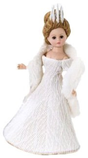 Madame Alexander 10 Inch The Chronicles of Narnia Collection Doll - The White Witch - White Witch Narnia Costume
