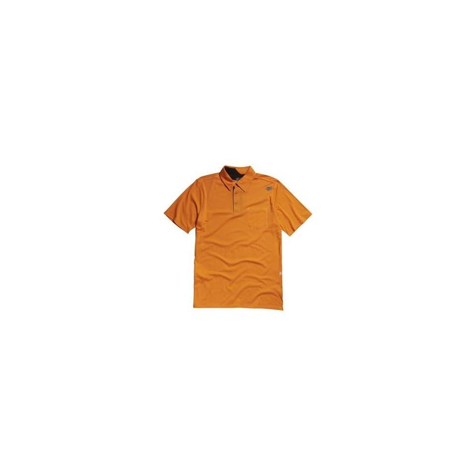 Fox Racing Outfoxed Polo   Small/Day Glo Orange