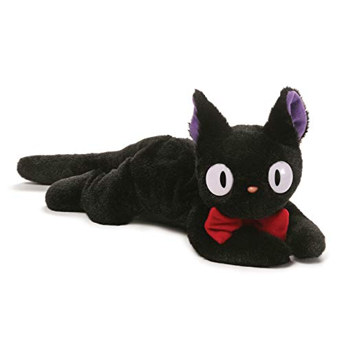 GUND Kiki's Delivery Service Jiji Stuffed Animal Plush Beanbag, -