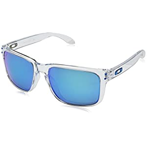 Oakley Mens Sunglasses Clear/Red - Polarized - 59mm