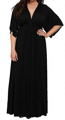 (Rachel Pally Caftan Label Women's Plus Maxi Dress Blacks)