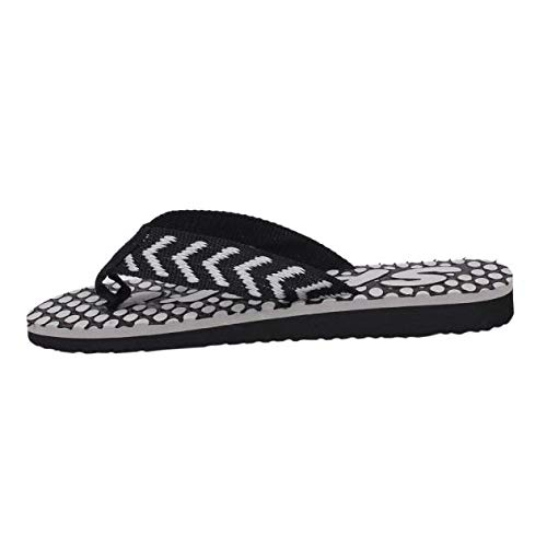 VonVonCo Men Summer Flip Flops Shoes Sandals Slipper Indoor & Outdoor Flip-Flops Black by VonVonCo (Image #3)