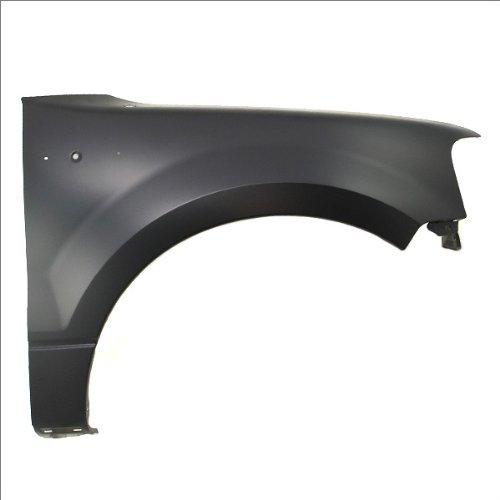 (CarPartsDepot 4.2L Right (Passenger) Side Front Fender Assembly FO1241231 5L3Z16005AA)