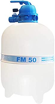 Filtro Fm-50 Para Até 78 Mil Litros - Sem Areia Sodramar Fm - 50 Sem Areia