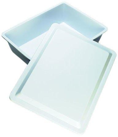 AZLON TWR205 Plastic, Lid Utility Tray, Polypropylene, 10 L Duran Inc
