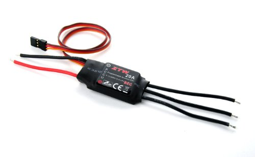 ZTW 20A Brushless ESC for RC Airplanes & Helicopters