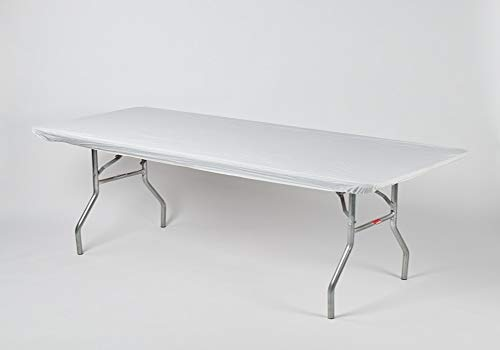 - Kwik-Covers 6' Rectangle Plastic Table Covers 30