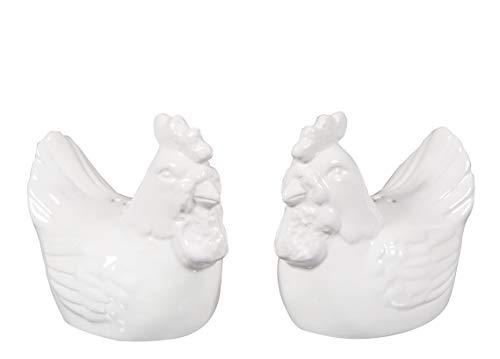 Novelty Ceramic Salt & Pepper Shaker Set (Pottery Barn Farmhouse)