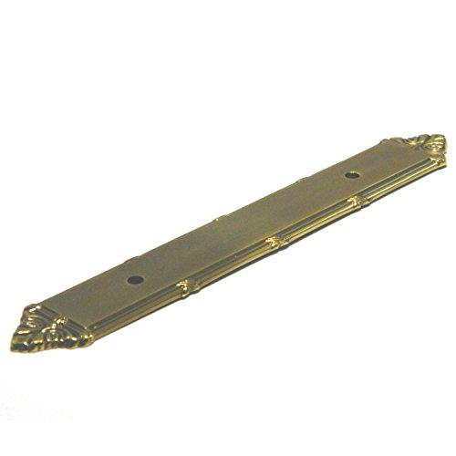 Brass Backplate Tall - Sherwood Antique Solid Brass 3 3/4