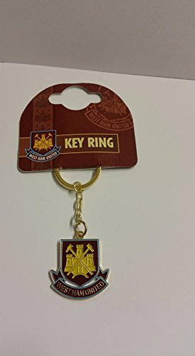 West Ham keyring official product by Bathtime Bakery (Keyring Ham West)