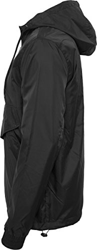 Uomo Classics Windbreaker black Urban Giacca Over Nero Pull agwwq8xT