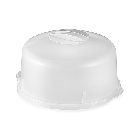 CreativeWare Cake Plate with Lid (Dublin Crystal Punch Bowl compare prices)