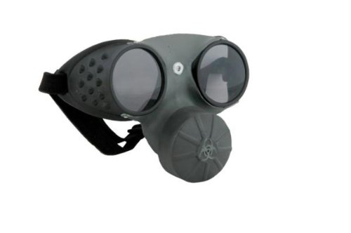 [Elope Gas Mask, Grey/Black, One Size] (Halloween Costumes With Gas Mask)