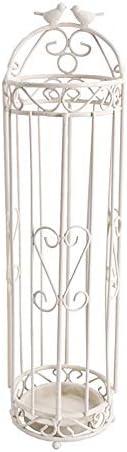 傘収納 シンプルグッドモーニング・バード傘バケツヨーロッパの家庭用傘立て 実用的な家庭用ギフト (色 : Sand grain white, Size : 16x16x60cm)