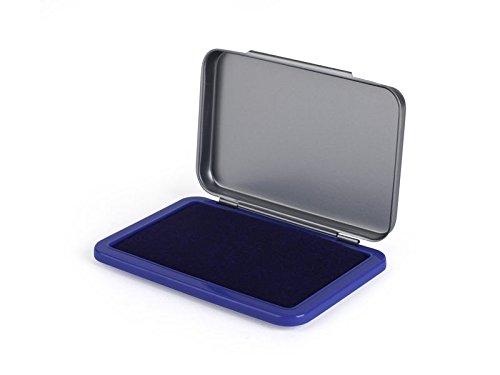 5 Star 941815 - Tampón metálico, 5 x 8.5 cm, color azul 240617