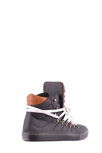 Dsquared2 Herren Mcbi107220o Schwarz Stoff Hi Top Sneakers