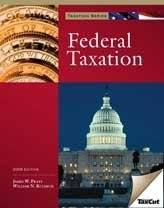 2009 Federal Taxation (with H&R BLOCK At HomeTM Tax Preparation Software)