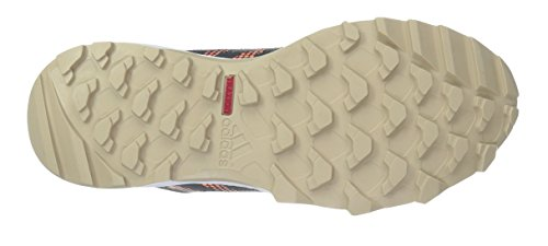 Adidas Performance Womens Galaxy Trail W Scarpa Da Corsa Grigio Scuro / Grigio Tech / Arancione