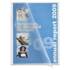 Business Source Slide Bind Report Cover (Pack of 50)