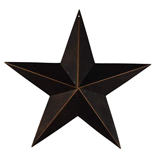 EBEI Metal Country Antique Barn Star 21.5