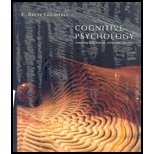 Cognitive Psychology - With Coglab Online and CD
