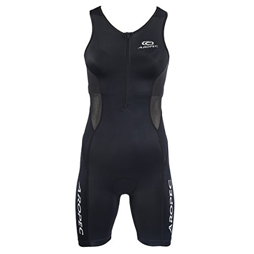 Aropec evolution black Triathlon Einteiler Damen, Größe:L