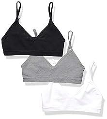 Amazon Essentials Girls' 3-Pack Seamless...