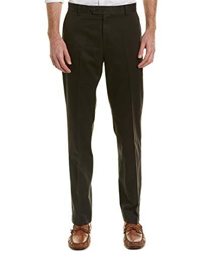 Brooks Brothers Mens Milano Chino Pant, 40/32, Black
