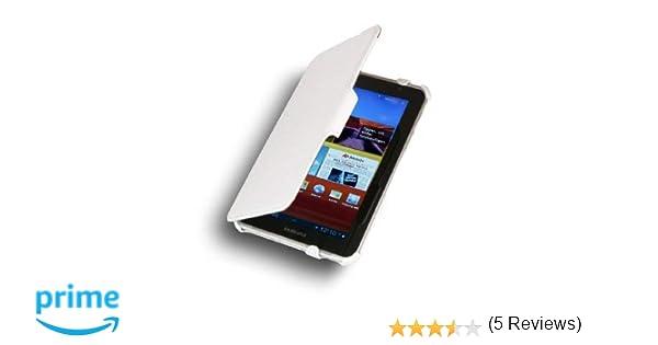 StilGut® UltraSlim Case, Funda con Soporte y función de presentación para Samsung Galaxy Tab 2 7.0, Color Blanco