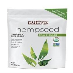 Nutiva- Organic Shelled Hempseed 12 oz