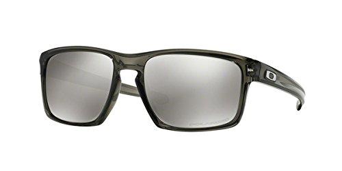 Oakley Men's Sliver Polarized Grey Smoke/Chrome Iridium One Size
