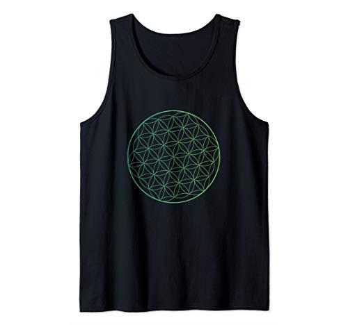- Flower Of Life Symbol Sacred Geometry Tank Top