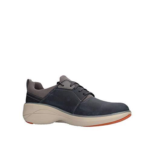 Un Uomo Rice Sneaker Lo Clarks Blu dWFBaq