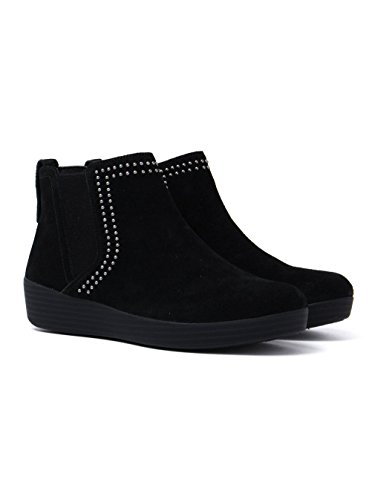 Superchelsea Boot Studs Suede w FitFlop Womens Womens FitFlop Suede Black Superchelsea Boot RwgYvnOR
