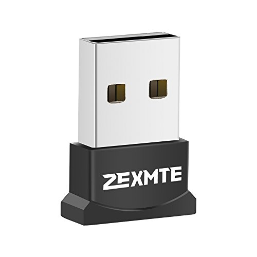 USB Bluetooth Adapter for PC, Zexmte Bluetooth 4.0 USB Adapter Wireless Dongle Adapter Compatible with PC Desktop and Computer with Windows 10 8.1 8 7 Vista XP (7 Bluetooth)