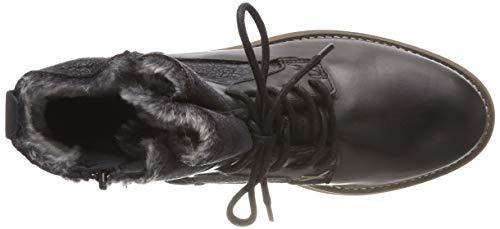 21 Comb Neige 26260 De Bottes Femme Noir 98 black Tamaris qH5C8x