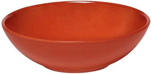 (Emile Henry EH322122 Brick Salad Bowl Ceramic 22 x 22 x 7 cm)