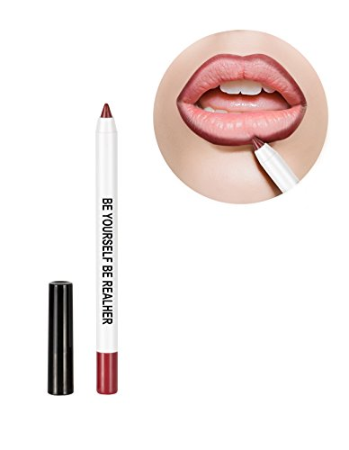 RealHer Defining, Anti-Feathering, No Bleeding, Dark Red Lip Liner -