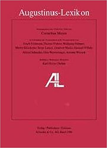 Gut gemocht AL - Augustinus-Lexikon: Amazon.de: Cornelius Mayer, Erich IU99