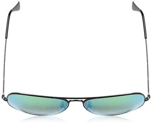 Lenses Ban Ray soleil Flash Black Mixte Green de Lunettes 1a8wdqxaz