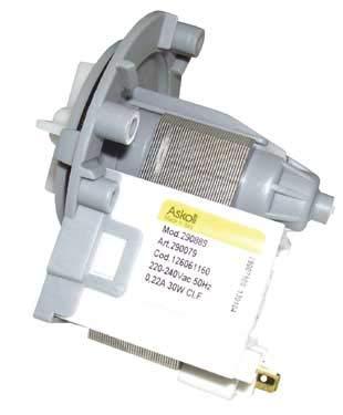 Zanussi 126061150 - Bomba de desagüe para lavadora: Amazon.es ...