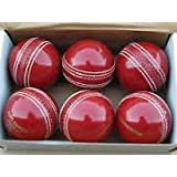 Forever Genuine Leather Cricket Ball Set of 6