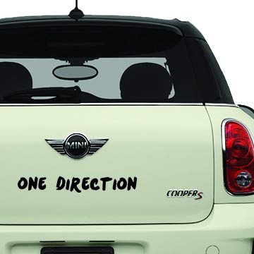 one direction vinyl decal - 3
