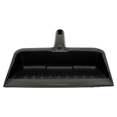Rubbermaid Commercial Heavy-Duty Dustpan, 12-1/4'' W, Polypropylene, Charcoal by Rubbermaid Commercial