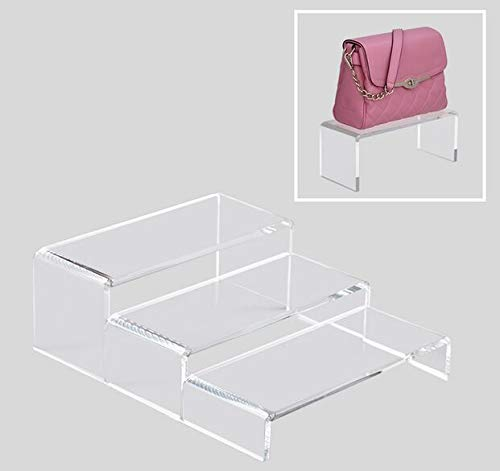 Kisame Cabinet Shoe - Clear Acrylic Stand Multi-Functional Shoe Storage Rack Shoe Rack Bag Watch Cosmetics ()