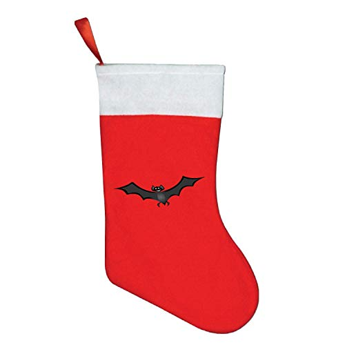Christmas Decoration Bat Halloween Flying Wings Christmas Stockings Mini Candy Gift Bag Santa Toy Stockings for -
