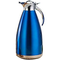 304 Stainless Steel Coffee pot Double Insulation Cold Water Bottle/Juice Tea or Milk 70.3 Ounces