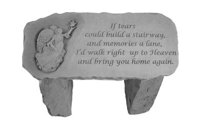 Design Toscano Bring You Home Memorial Garden Bench