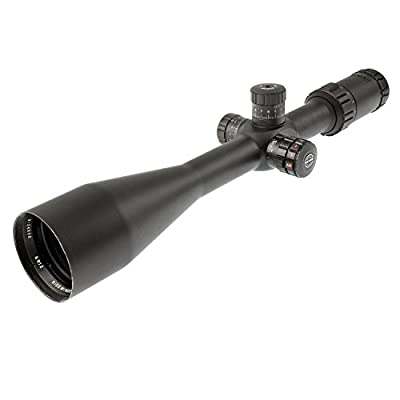 Hawke Sport Optics HK4010 Sidewinder 30 Side Focus 6-24X56 1/2 Mil Dot IR Scope, Black by Sportsman Supply Inc.