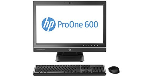 2017 HP ProOne 600 G1 21.5″ FHD All-in-One Business Desktop Computer, Intel Pentium G3220 3.0GHz, 8GB DDR3 Memory, 500GB HDD, DVD, USB 3.0, Windows 10 Professional (Certified Refurbished)